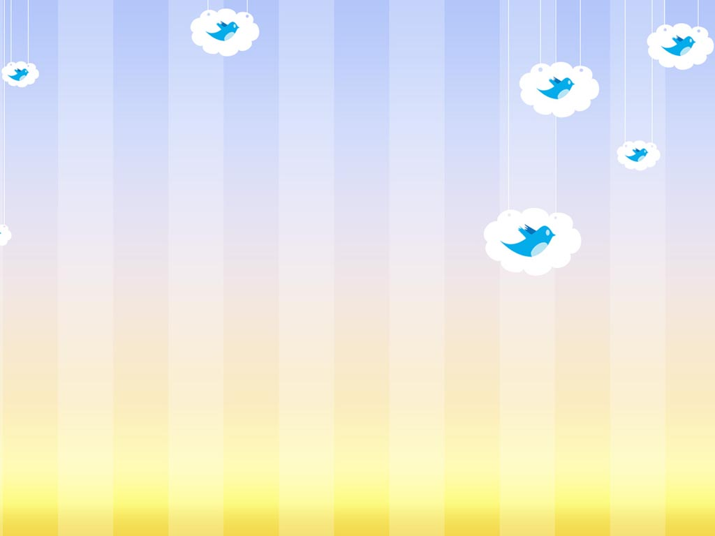 Twitter PPT Backgrounds