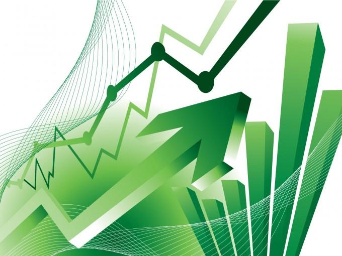 Finance Statistics Chart PPT Backgrounds
