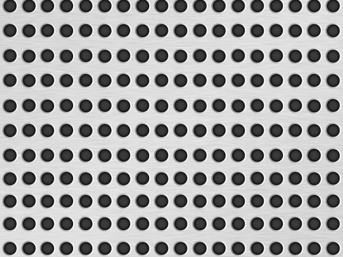 Metal Texture with Holes PPT Backgrounds