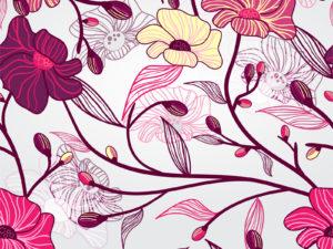 Artistic Flowers Presentation Backgrounds