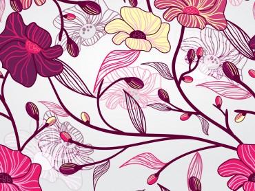 Artistic Flowers Presentation