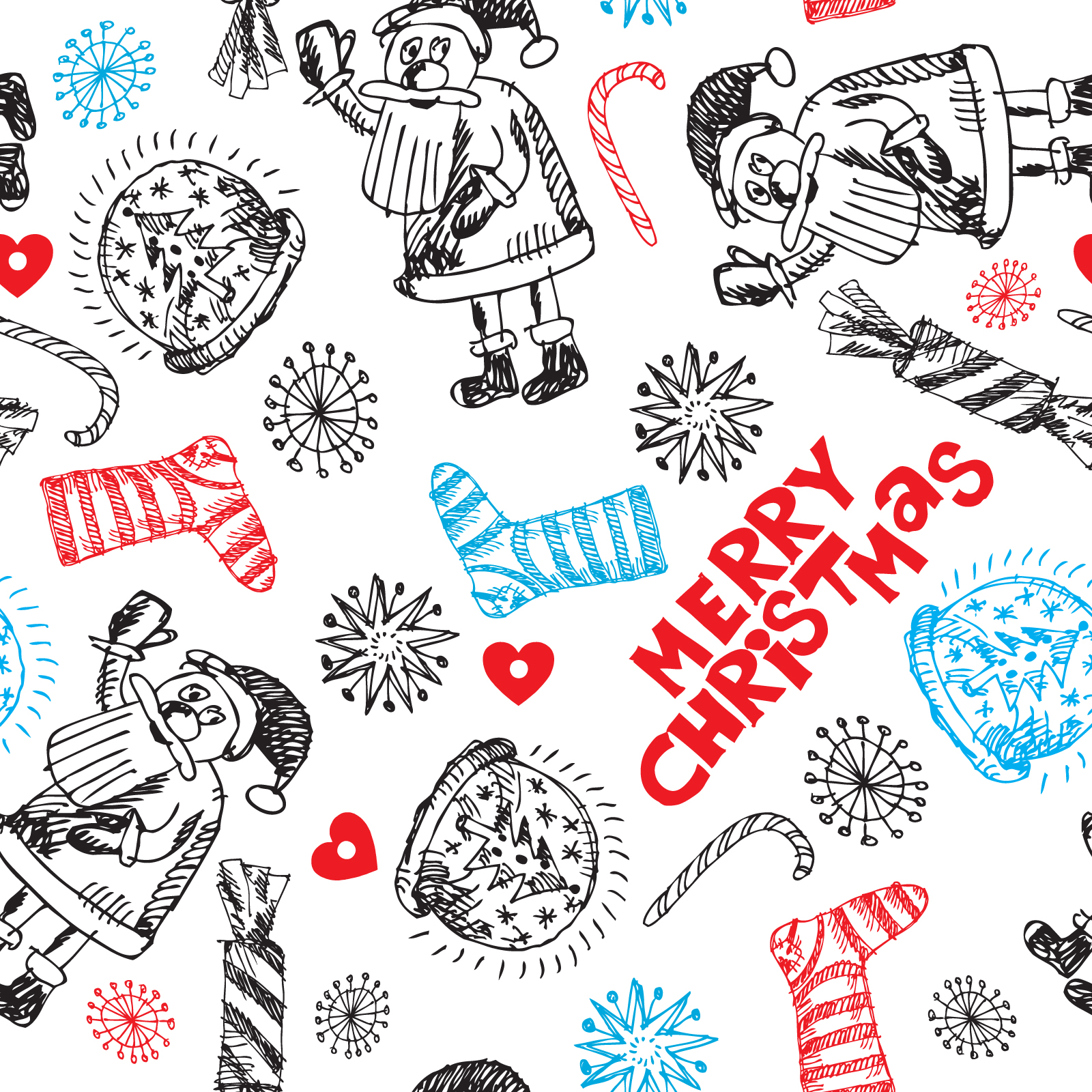 Christmas Pattern PPT Backgrounds