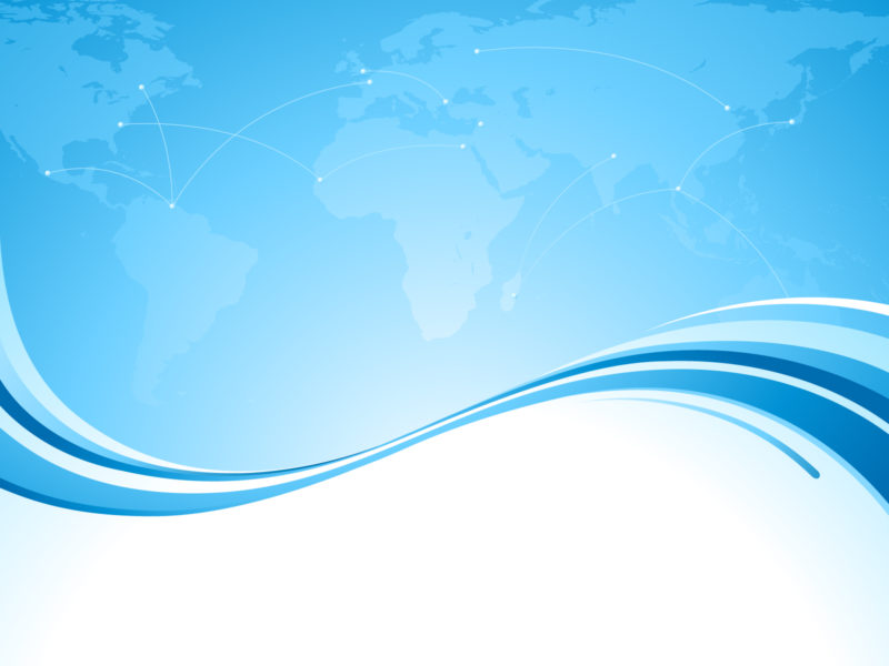 Elegant Abstract Blue Backgrounds PPT