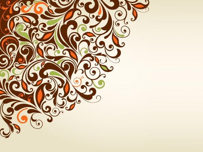 Sweet Floral Frame PPT Backgrounds