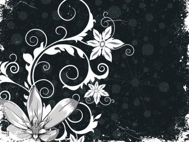 Grunge Floral Powerpoint