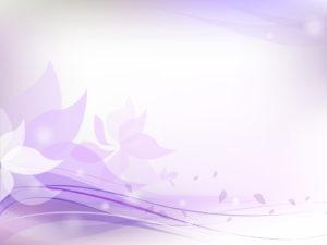Light Purple Floral Backgrounds