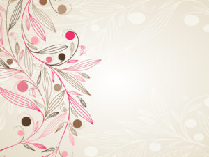 Simple Floral PPT Backgrounds