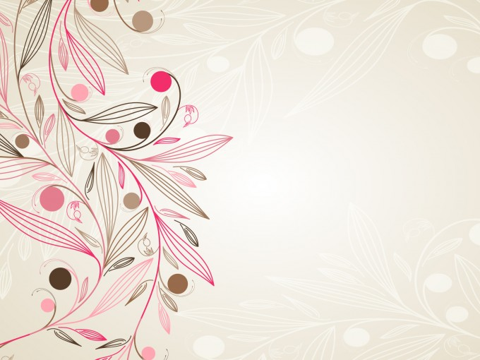 Floral Simple Powerpoint PPT Backgrounds