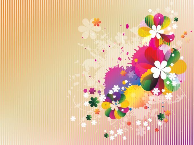 Spring Floral PPT PPT Backgrounds