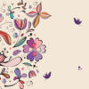Vintage Floral Powerpoint Backgrounds