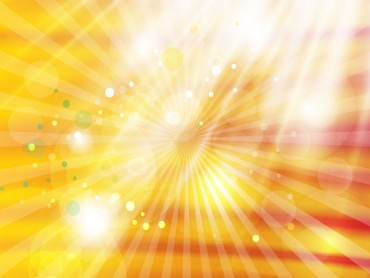 Abstract Golden White Light