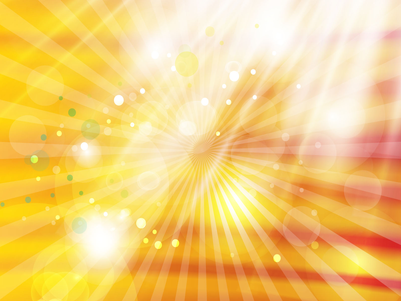 Abstract Golden White Light Powerpoint Template