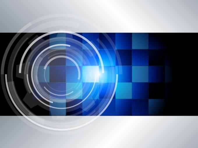 blue tech Backgrounds - PPT Backgrounds