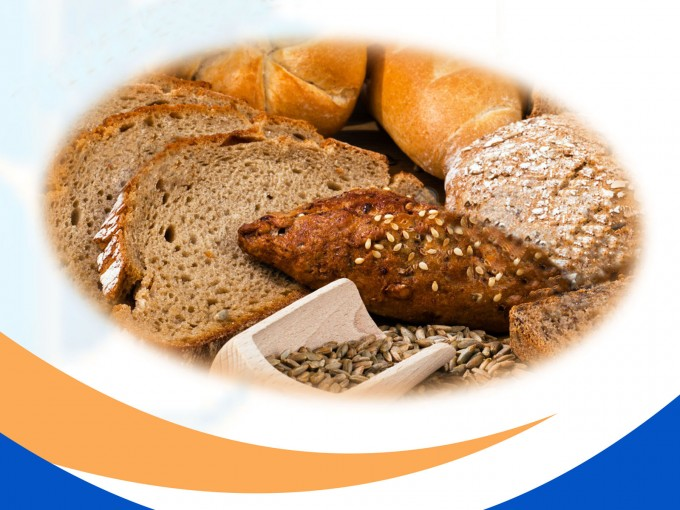 Bread and bread varieties PPT Backgrounds