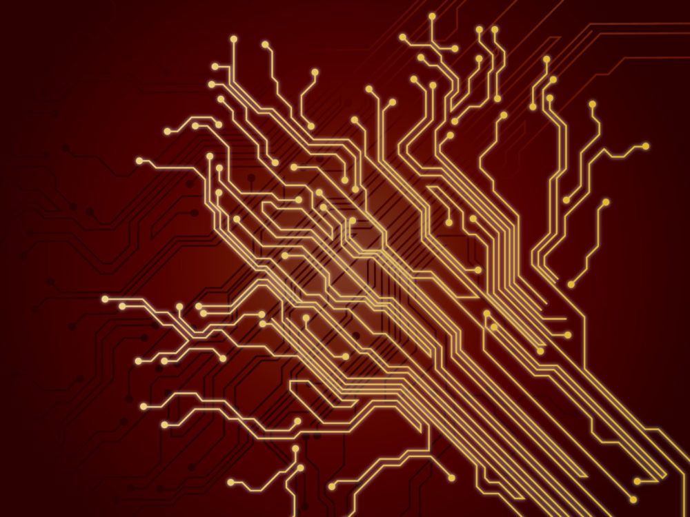 electronic red background wiring - photo #2