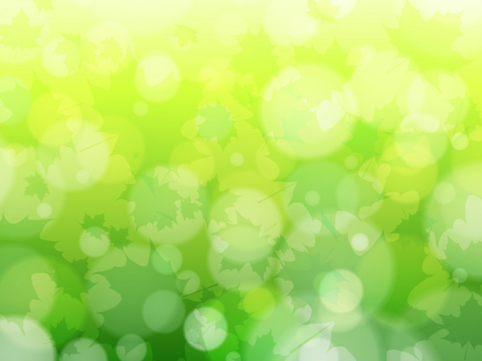 Green Abstract Nature PPT Template PPT Backgrounds