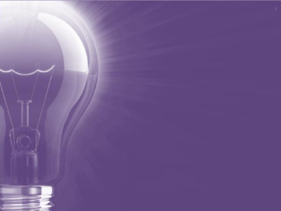 Lightbulb Purple PPT Backgrounds