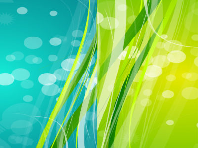 Nature Abstract Green Blue PPT Backgrounds