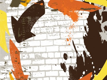 Retro Grunge Wall