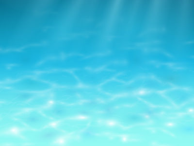 Under Water Blue PPT Template