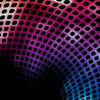 Abstract Colorful Holes Powerpoint Template