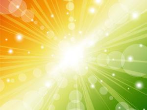Abstract Sunbeam Design PPT Backgrounds