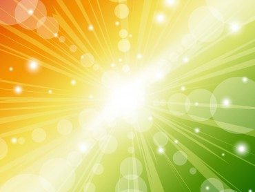 Sunbeam Design Powerpoint