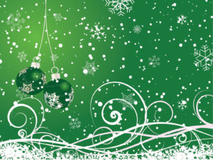 Floral Gren Happy New Year 2013 Backgrounds
