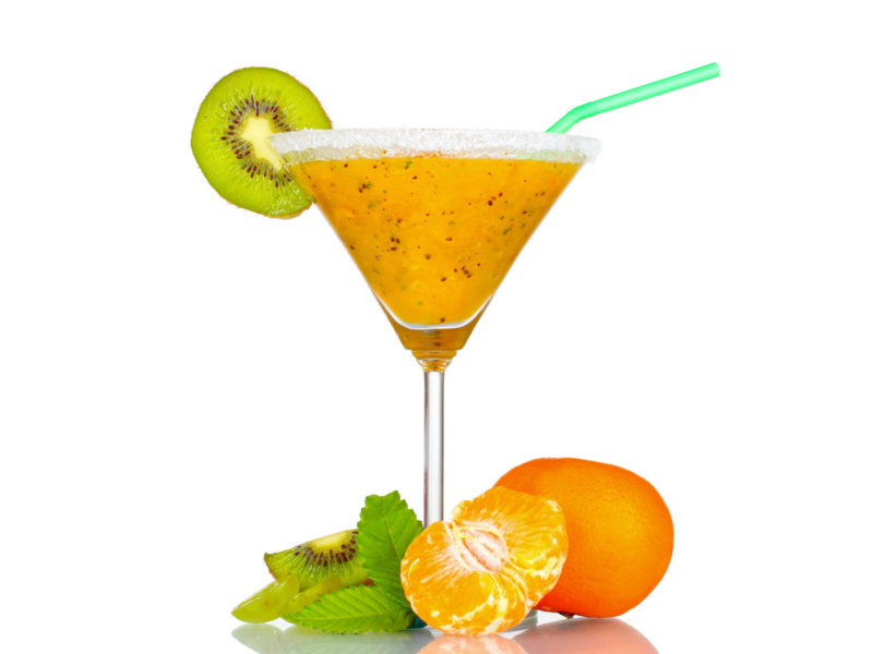 Fruit-flavored Cocktail Backgrounds