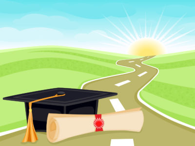 Graduation and Life PPT Backgrounds