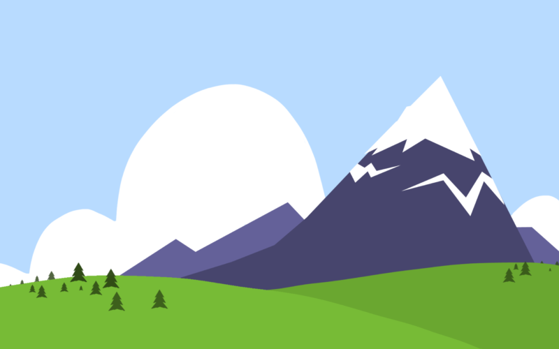 Mountain and Forest Powerpoint Backgrounds