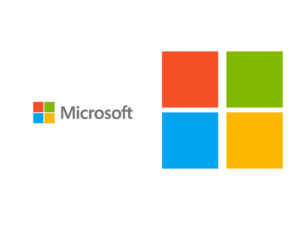 New Microsoft Logo PPT Backgrounds