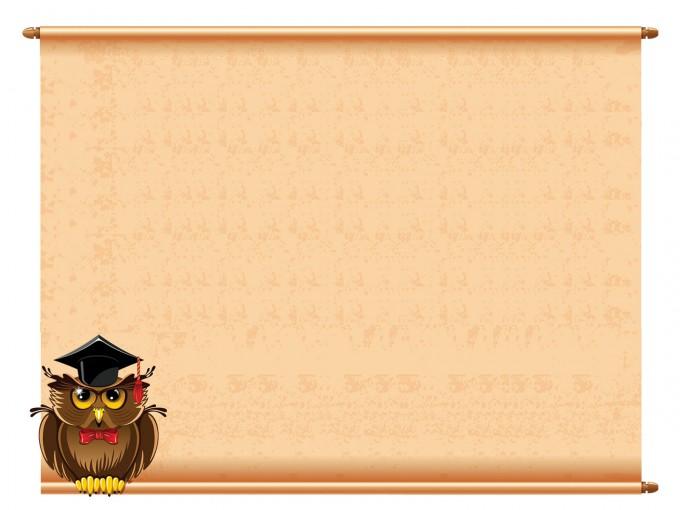 Notice Announcement Paper PPT Backgrounds