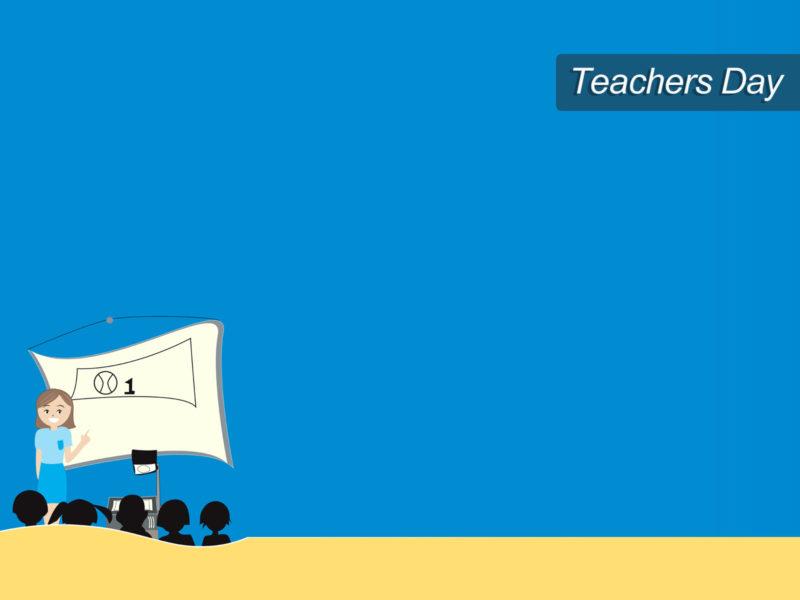 Teacher Day Class PPT Template