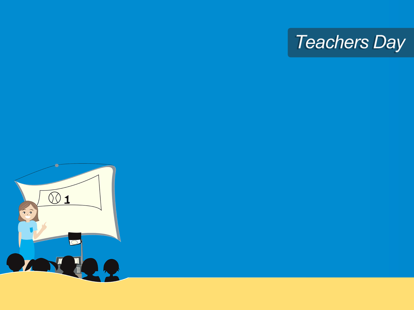 Teacher Day Class PPT Template
