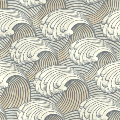 Waves Pattern PPT Backgrounds