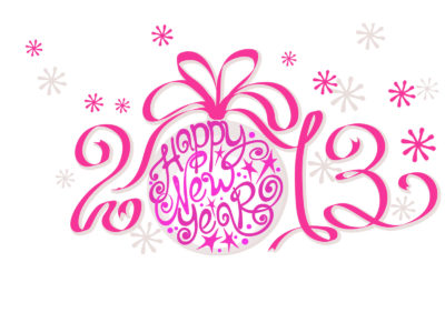 Happy New Year 2013 Quotes Powerpoint Design