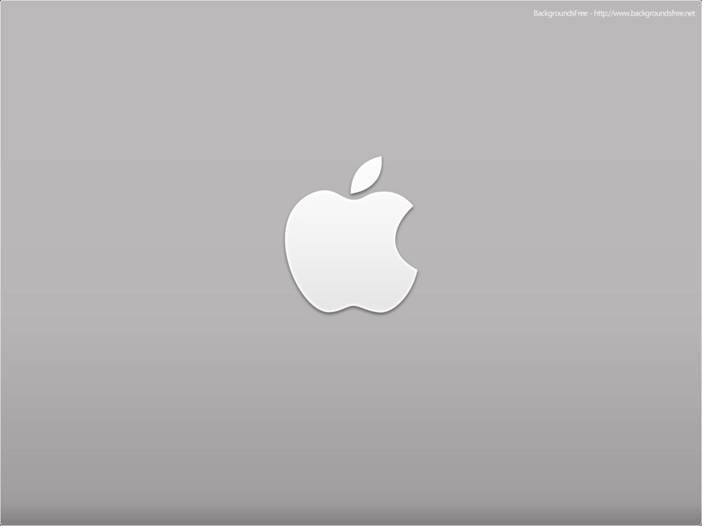apple desktop logo ppt template ppt backgrounds - technology, Presentation templates