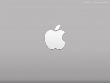 Apple Desktop Logo PPT Template