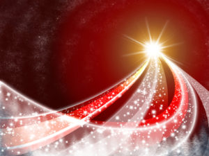 Christmas Abstract Snowy PPT Backgrounds