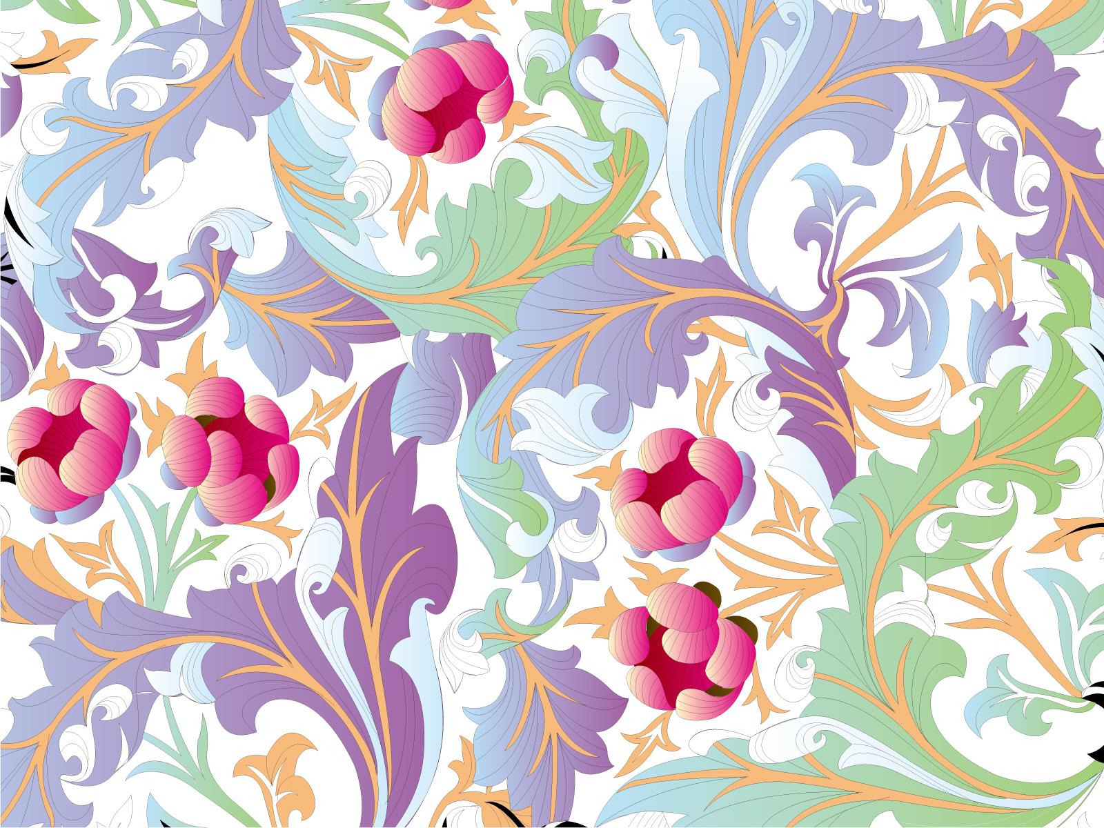 flower pattern graphic backgrounds flowers pink purple