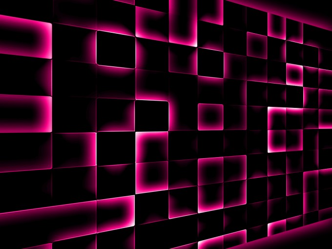 Mosaic Effect Pattern PPT Backgrounds