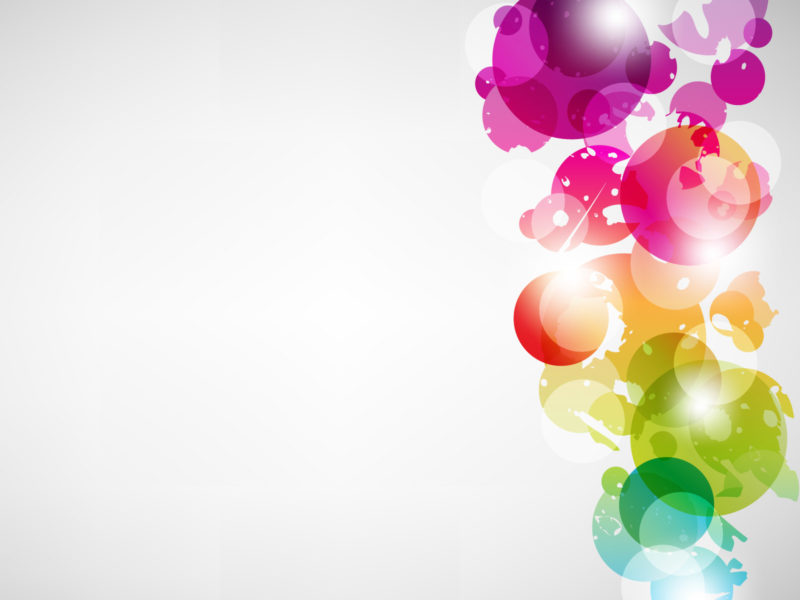 Multicolour Vector ppt Backgrounds
