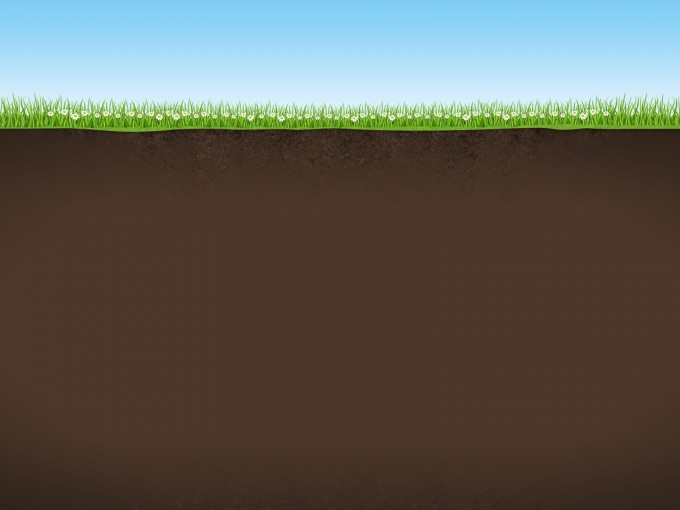 Nature Background with Sky Grass and Earth PPT Backgrounds