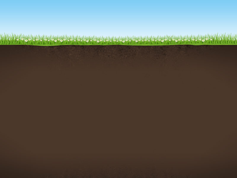 Nature Background with Sky Grass and Earth PPT Templates