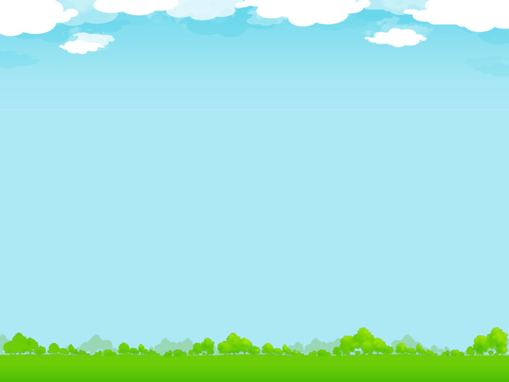 Nature With Sky Backgrounds Blue Green Nature White