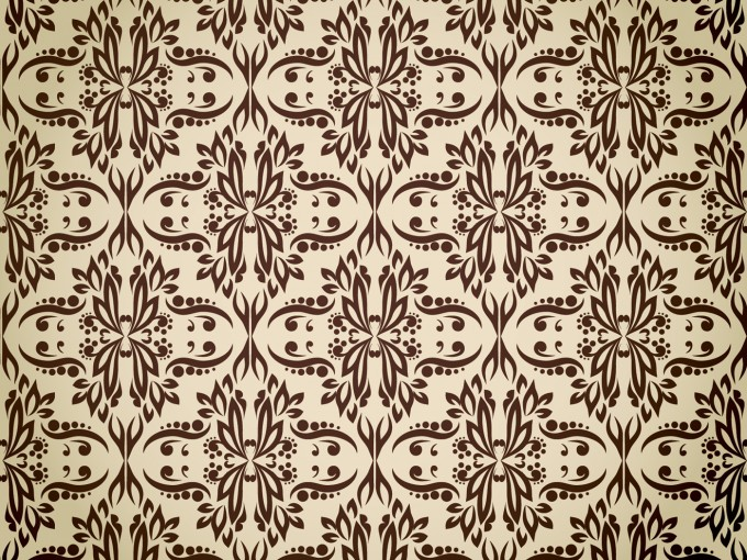 Seamless Brown Pattern PPT Backgrounds