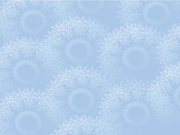 Snowflakes on light blue