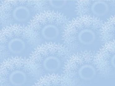 Snowflakes on light blue
