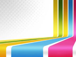 Stunning retro graphic powerpoint design background
